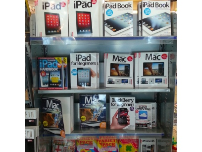 iPad books at Heathrow Airport