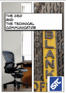 cover of a comic about technical communication