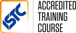 ISTC accredited training course logo