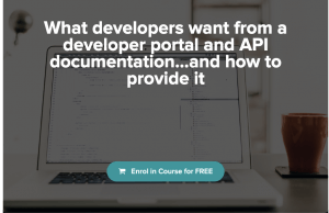 Mini course: What Developers Want from a Developer Portal and API documentation